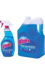 Glass & Multi Surface Cleaner 32oz Spray Bottle - 172oz Refill (1.37 gal)