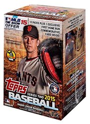 Topps 2015 MLB Series 2 Value Box - pack red, 10