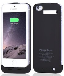 Baidatong Battery Case Power Case For Iphone 5c  - Black