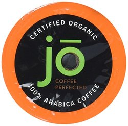 Jo Coffee Organic Dark French Roast for K Cup Coffee Brewers 72 Cups