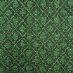 Trademark Poker Stalwart Table Cloth Suited Emerald, Waterproof, 3yds