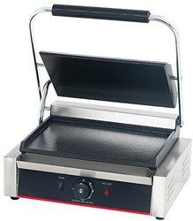 Hakka Press Grill and Sandwich Griddler - Single Flat Grill TEG-811EB