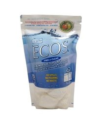 EARTH FRIENDLY - 17.98 OZ LAUNDRY ECOS DETERGENT PODS FREE