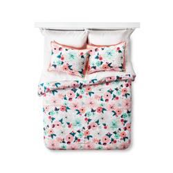 Xhilaration Floral Printed Comforter Set - Multicolor - Size: Full Queen