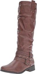 Xoxo Knee High Maeko Boots: Brown/8