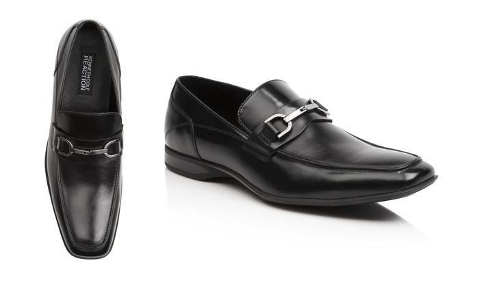 Kenneth Cole Mens Twist N Shout Dress Shoes Black Size 95m