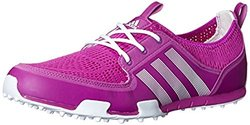 adidas Women's W CC Ballerina II Golf Shoe, Flash Pink/Running White/Running White, 6.5 M US
