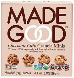 Made Good Granola Minis Organic Chocolate Chip 6 Pks - Size - 4 OZ