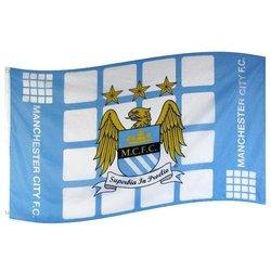 Manchester City Football Club Flag - Latest Design Flag