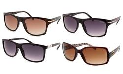 Guess Unisex Sunglasses: Black Frames/ Grey Lenses (guf-217-blk-35a-62)