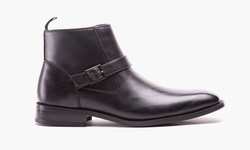 Kenneth Cole Unlisted Cal-ulus Men's Boot - Black - Size: 9