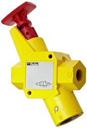 Parker LV Series Cast Aluminum Alloy Exhaust Lockout Valve
