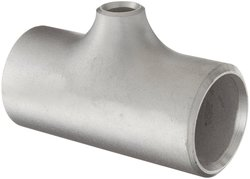 """Merit Brass Stainless Steel Pipe Fitting - 1"""" x 1"""" x 1/2"""""""