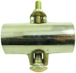 """Aviditi Stainless Steel Clamp 1 Bolt - Size: 1"""""""