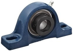 SKF Normal Duty Pillow Block Ball Bearing - 9810 lbs Dynamic Load Capacity