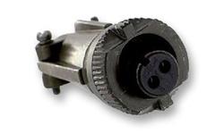 Amphenol Circular Connector Socket - 22 Shell Size & 2 Contacts