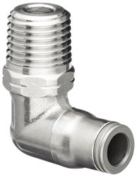 Legris 3889 56 11 Stainless Steel 316 Push-to-Connect Fitting