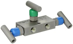 Noshok 3610 Series Mini 3 Valve Differential Pressure Hard Seat Manifold