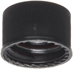 Sun Sri Open Top Polypropylene Closure 100 Packs - Black