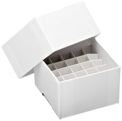 Nalgene Case of 6 Nunc Chipboard Cryoboxes - White