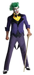 Rubie's Costume Men's Dc Super Villains Adult Joker, Yellow/Purple, Large