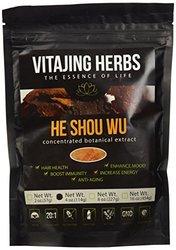 Vitajing He Shou Wu Powder Extract Organic - 4 Oz