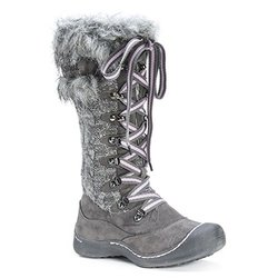 Women's Gwen Snowboots: Grey/10