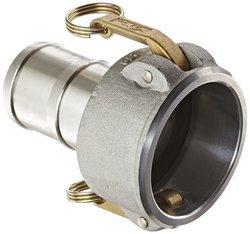 "PT Coupling 3"" x 2-1/2"" Aluminum Reducer Cam & Groove Hose Fitting"