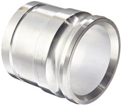 """Victaulic 40AG Aluminum Cam & Groove Hose Fitting - 4"""" Adapter x 1-Groove"""