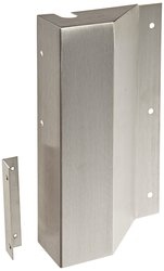 Rockwood Stainless Steel Right Hand Latch Guard Cover - Satin Finish