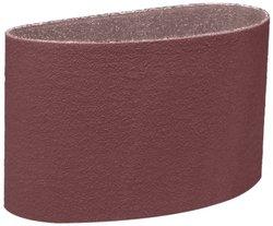 3M 80 Grit Aluminum Oxide 341D Cloth Belt - Pack of 20 - Brown