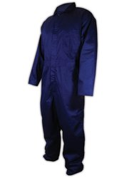 A.R.C. Cotton Mandarin Collar Arc-Resistant Coverall -Navy Blue - Sz: 5X-L