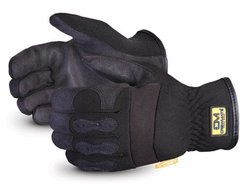 Superior Leather Drivers Work Gloves - Pk of 1 Dozen - Black - Sz: Small