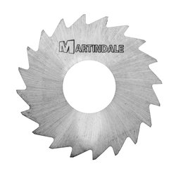 "Martindale TUNS18035 9/16"" OD 1/4"" HD 0.035""T Tungsten-Carbide Saws"