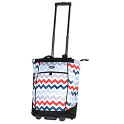 Olympia Usa Fashionista Shopper Tote: Chevron Aspen