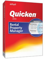 Intuit Quicken Rental Property Manager 2013- For Windows PC- (419355)