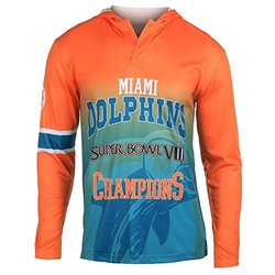 Forever NFL Miami Dolphins Super Bowl VIII Men's Tee - Multi - Size: M