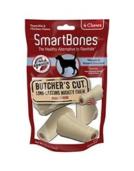 Smart Bones Butcher's Cut Long Lasting Mighty Chew for Dogs - Size: Small