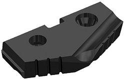 Series Z ALM-1C5ZA-12.5 C5 Carbide (P40) T-A Drill Insert -PkOf 2