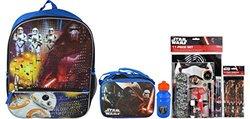 Disney Star Wars The Force Awakens Backpack Set
