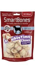 SmartBones DoubleTime Chicken Dog Chew Mini - 16pcs