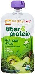 Happy Family Organic Happy Tot Fiber & Protein 8 Pack - 4 Oz