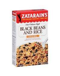 Zatarain's New Orleans Style Black Beans & Rice - 7 Oz