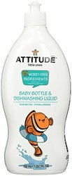 Attitude Bottle and Dishwashing Liquid Pear Nectar - 23.7 Oz