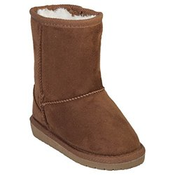 Microfiber Sheepdawg Boots: Chestnut/toddler 6-7
