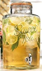 Home Essentials Sweet Tea Dispenser Clear
