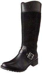 Timberland Women's Ek Bethel Tall Harness Boot,black,6 M Us
