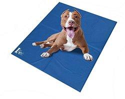 Mr Peanut's Chill Pad - Comfort Cooling Pet Mat - Blue - Size: XL