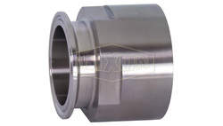 Dixon Stainless Steel 304 Sanitary Fitting Clamp Adapter (22MP-G15075)