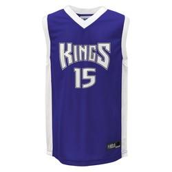 NBA Boys Sacramento Kings 15 Youth Athletic Jerseys - Navy Blue - Size: L